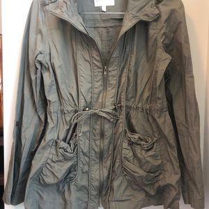 Delia's army green jacket